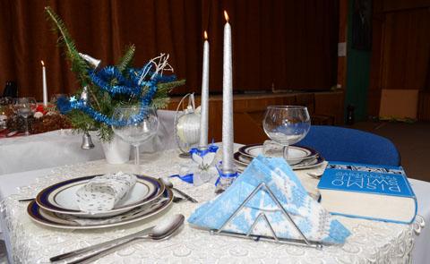 Stół bożonarodzeniowy ZESPÓŁ SZKÓŁ AGRO - TECHNICZNYCH